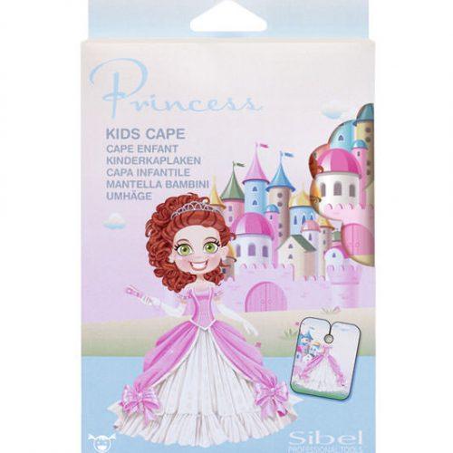 Schneideumhang extra für kleine Prinzessinnen, Coiffeurumhang , Coiffeurbedarf, Burri, Coiffeur