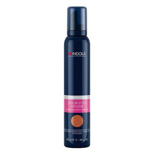 Indola Color Style Mousse Dunkelblond 200ml.