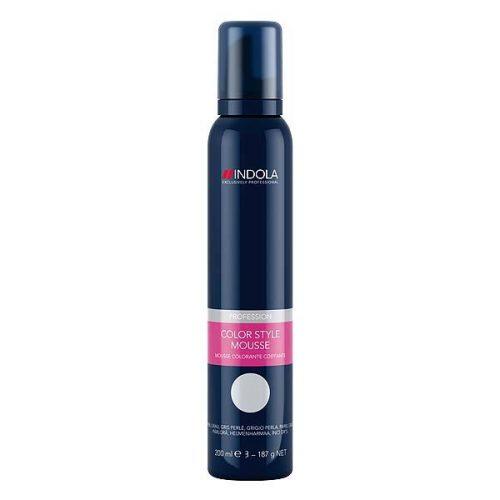 Indola Color Style Mousse Perlgrau 200ml