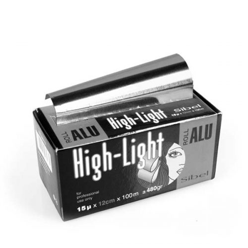 Alufolie High-Light 12cm silber