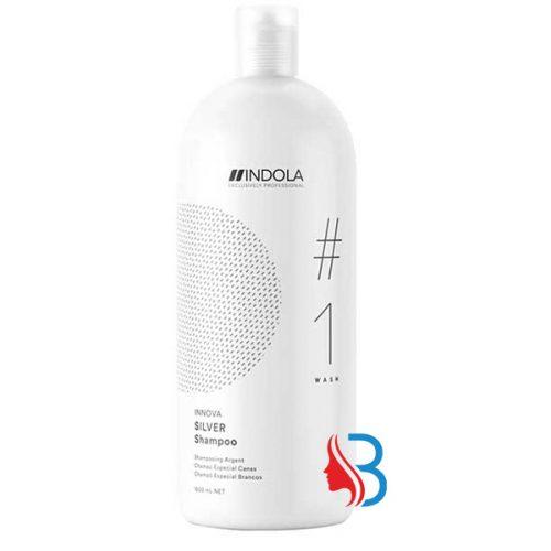 Das Indola Innova Color Silver Shampoo ist das ideale Shampoo für blondes, graues oder weisses Haar das coloriert ist