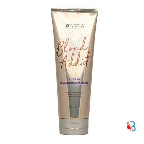 Indola Blond Addict Insta Cool Shampoo 250ml