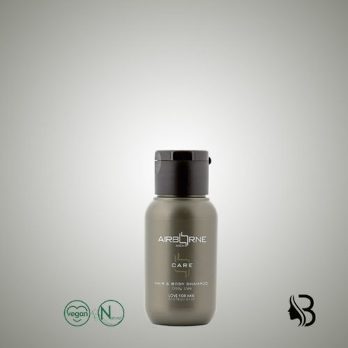 Airborne Men Hair & Body Shampoo 50ml Das perfekte Produkt für Haar und Körper für jeden Tag, für alle Bedürfnisse