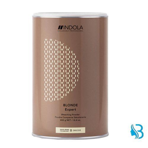 Indola Blond Expert Blondierpulver Indola Blond Expert Blondierpulver hellt die Haare bis zu 8 Farbstufen auf, ohne ihre Struktur zu beeinträchtigen