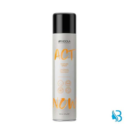 Indola Act Now Texture Spray 300ml Burri Coiffeurbedarf coiffeurartikel.ch